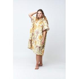 Poncho Botanical – Linen