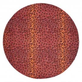 Round Towel - Leopard