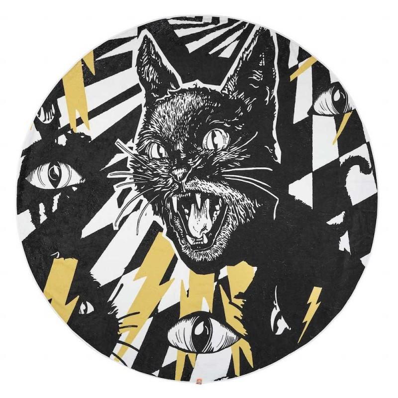 Round Towel - Wildcat