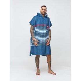 Poncho Sailor Stripes - Marine