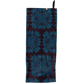 Sport towel / Fitness with slip guard - Small - Bleu noir
