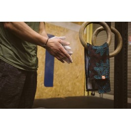 Training towel XS - Bleu noir