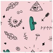 Poncho Hype - Pacifik pink