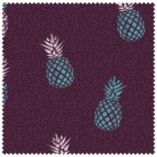 Sport towel / Fitness with slip guard - Small - Pineapple