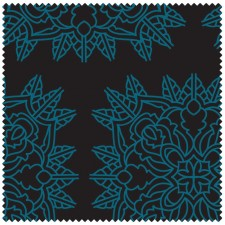 Serviette de sport / fitness avec rabat - Small - Bleu noir