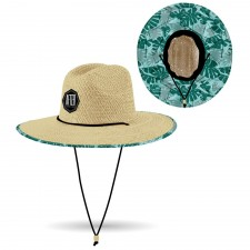 After Straw Hat - Chapeau - S/M - Big Leaves
