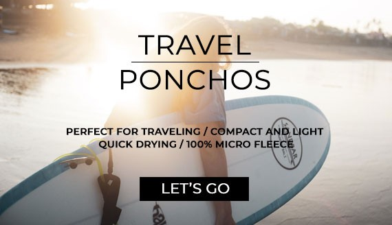 Travel ponchos